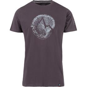 La Sportiva Cross Section T-Shirt Herren carbon